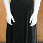Black Sequin Evening Dress