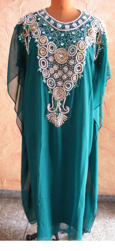Tailor Made Abaya from India