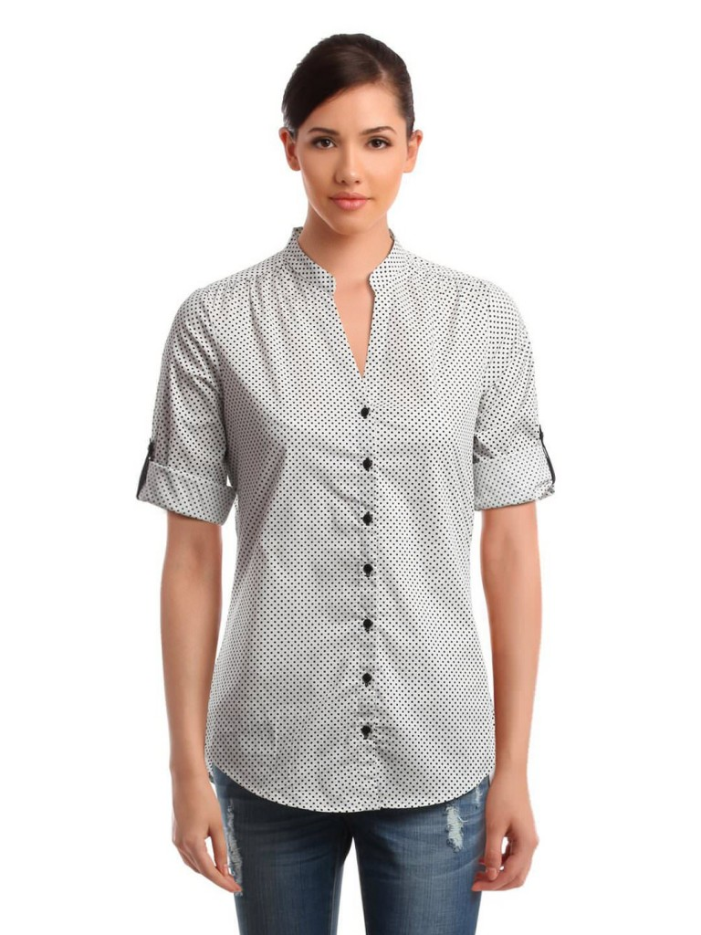 Women Printed Shirt tailored