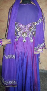 Custom made celebrity Dress - Back