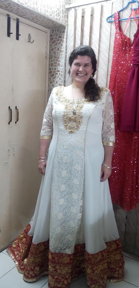 Nach Maß Lange Schleier Anarkali Kleid Inspiriert von Manish ...