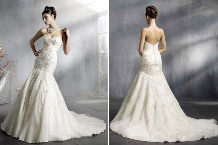 aac337c2614a4 Mermaid Wedding Dress - المدرج الأزياء - مصممة خصيصا فساتين