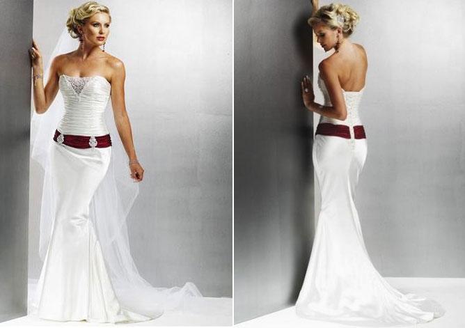 1904fe8774bf6 أبيض مثير اللباس حورية البحر - المدرج الأزياء - مصممة خصيصا فساتين ...