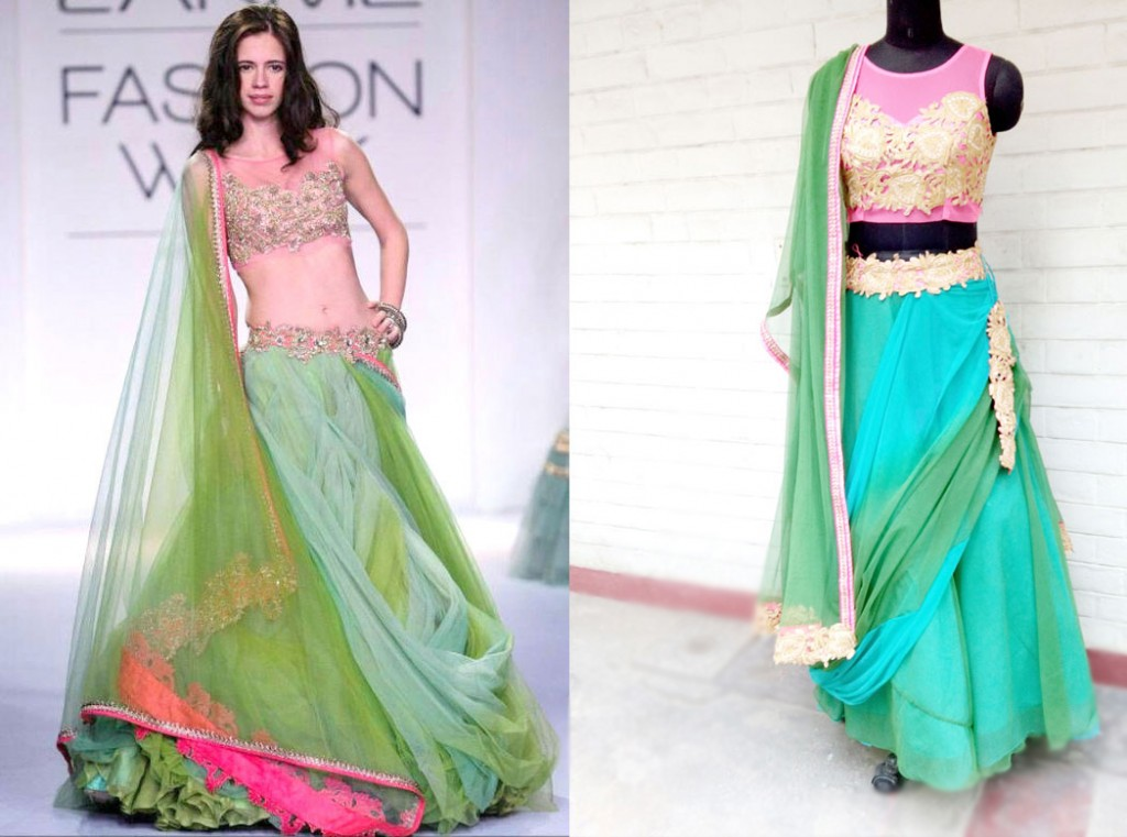 Custom made Lehengas