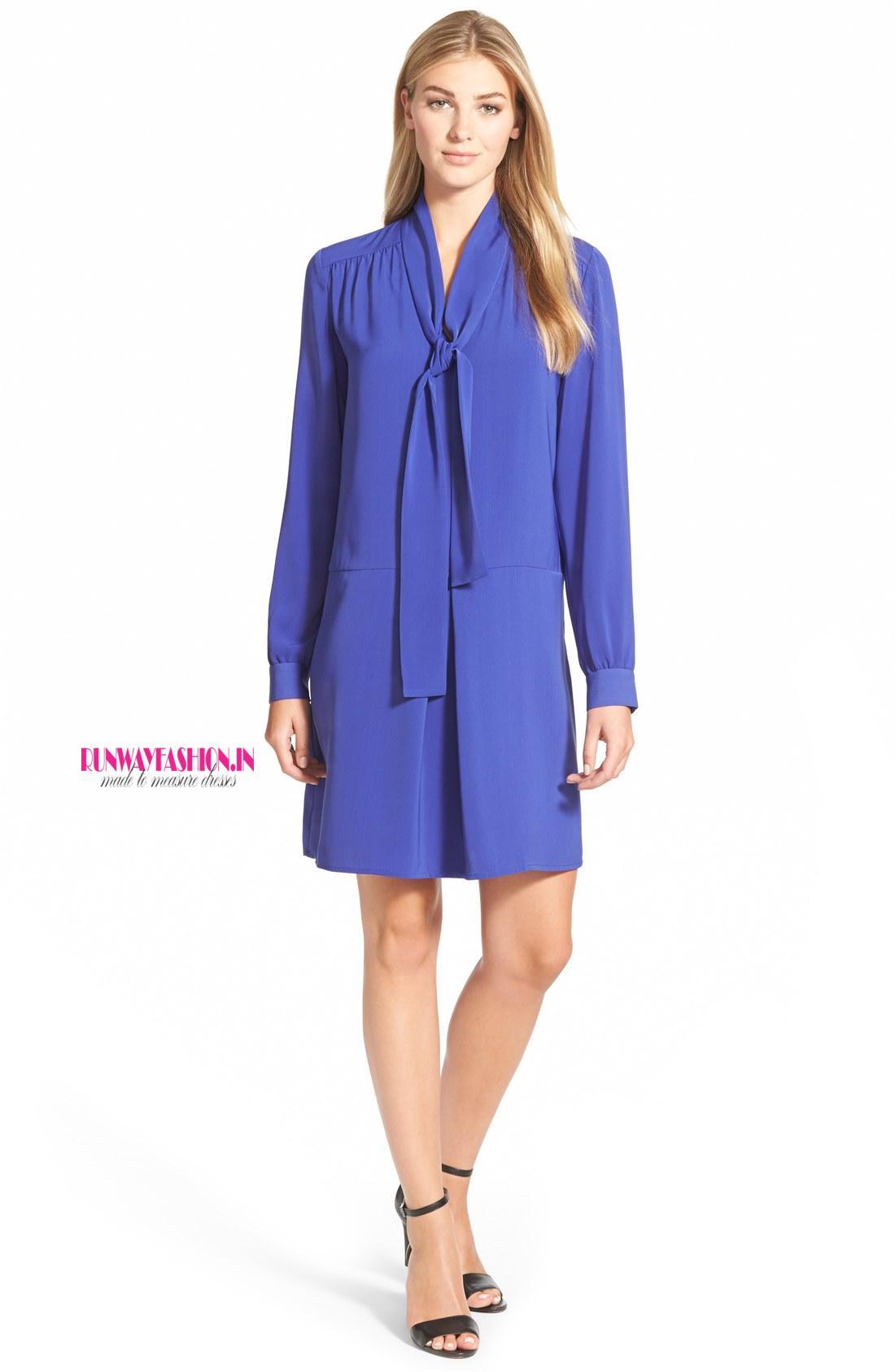 vestidos de oficina - Runway Fashion - A medida vestidos, Vestidos ...