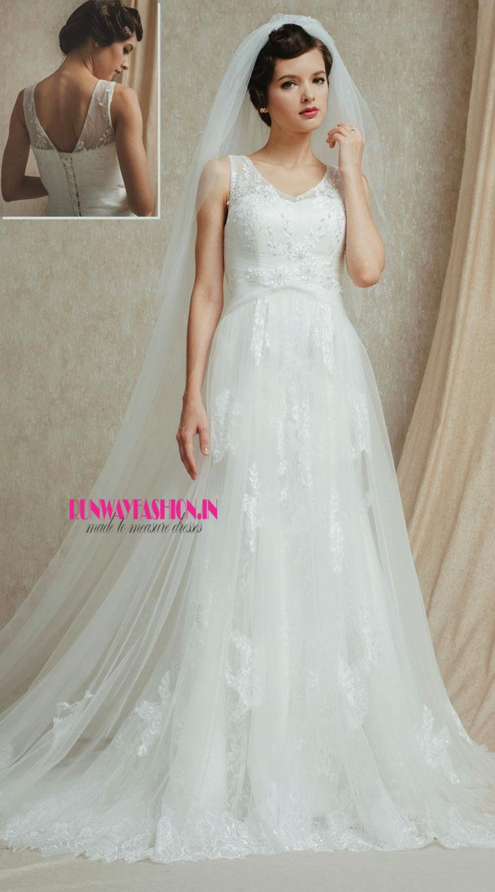 Beautiful Bride Net Gown Dress 90