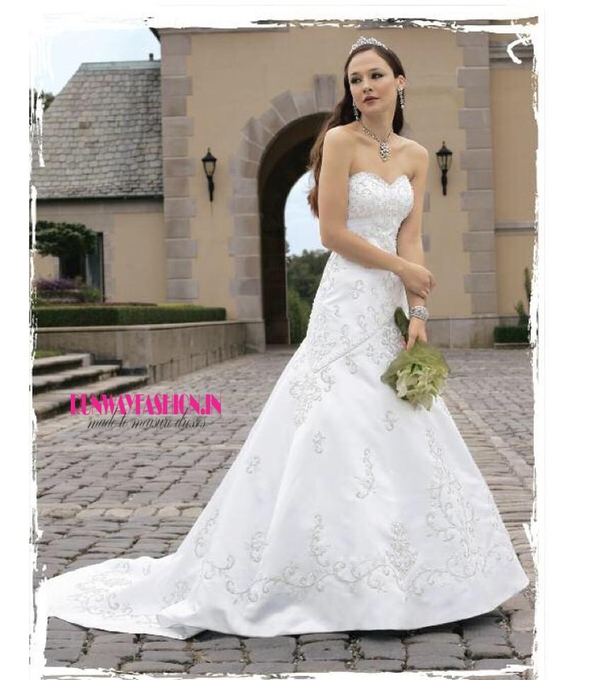 d88ede994 RF-274; بشكل كبير مطرز ثوب الحبيب فستان الزفاف INR 29,650 $452. منزل »  فساتين ...