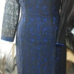 Black Lace Party Dress With Linning - Custom & Tailormade