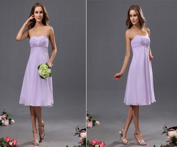 Victorian Lilac Wedding Dresses 15