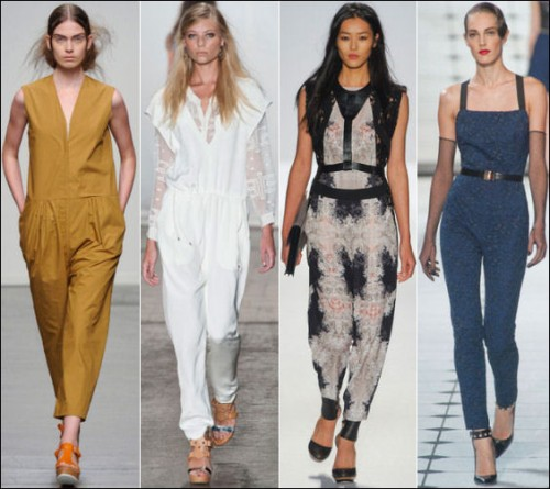 Jumpsuit Trends in Various Fashion Weeks