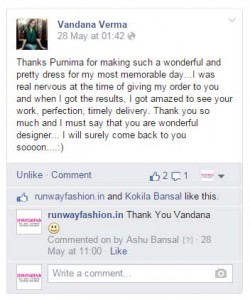 Custom Tailored Bridal Dress Testimonials