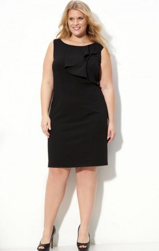 Short Evening Dresses For Plus Size