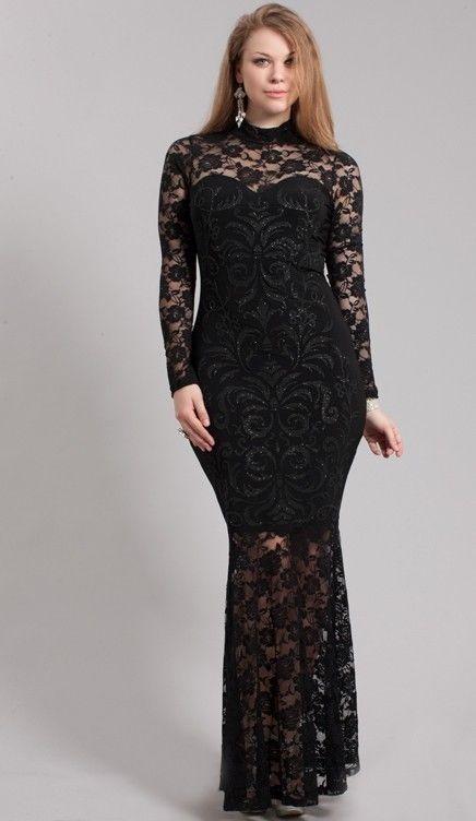 Plus Size Mermaid Dress Runway Fashion Tailor Made