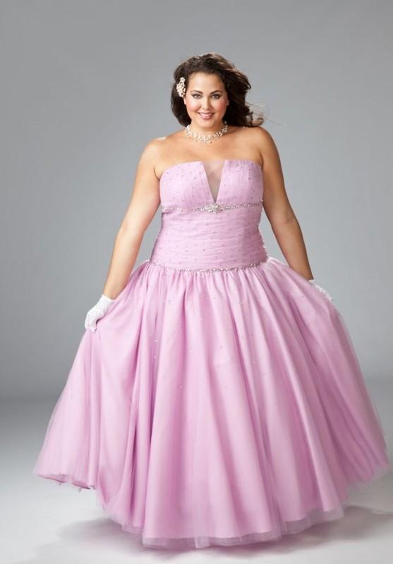 Más el tamaño de vestido de fiesta - Runway Fashion - A medida ...