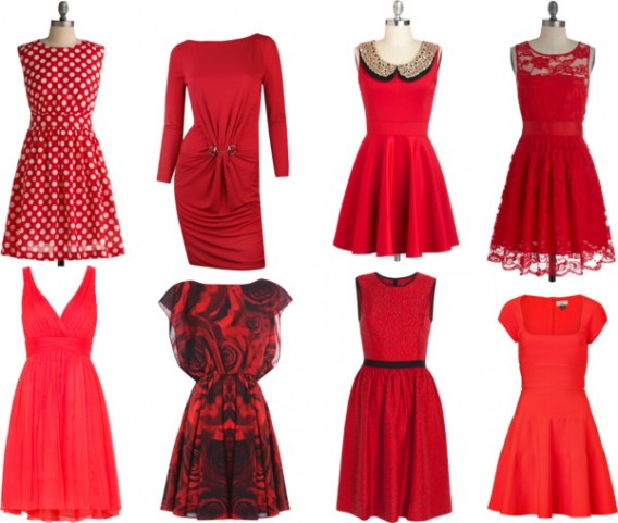 Customize A Valentine Dress For Year 2015