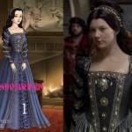 Tudor Era Fashion : Women Costume