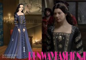 Tudor Wedding Dresses Custom Made