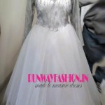 Embroidered Bridal Gown - Custom Made